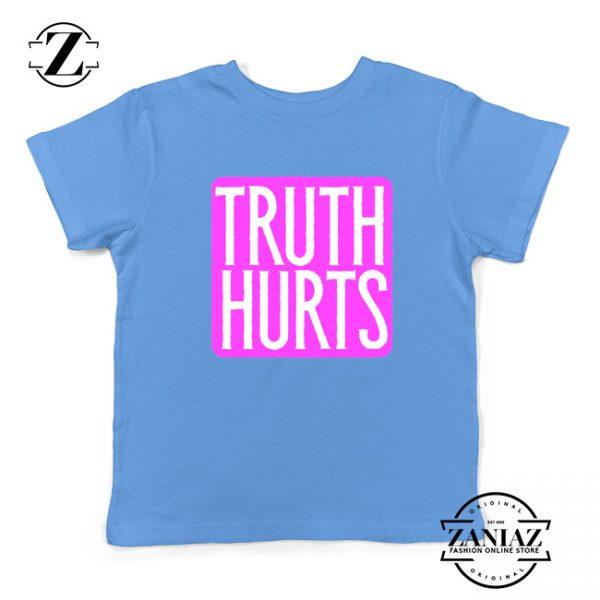 Truth Hurts Lyrics Youth Shirts Lizzo Singer Kids T-Shirt Size S-XL