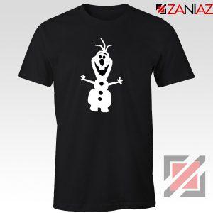 Warm Hug T-Shirt Olaf Disney's Frozen Tee Shirt Size S-3XL Black
