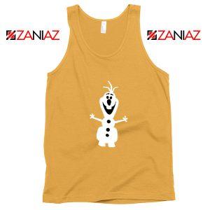 Warm Hug Tank Top Olaf Disney's Frozen Tank Top Size S-3XL Sunshine