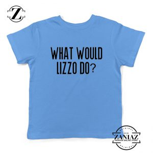 What Would Lizzo Do Kids Shirt American Singer Youth T-Shirt Size S-XL