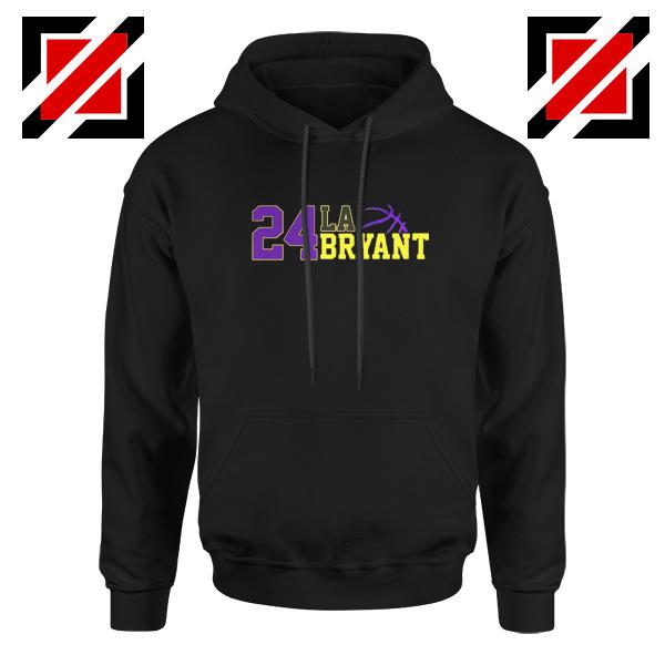 24 Lakers Kobe Bryant Hoodies Bryant Number Change S-2XL
