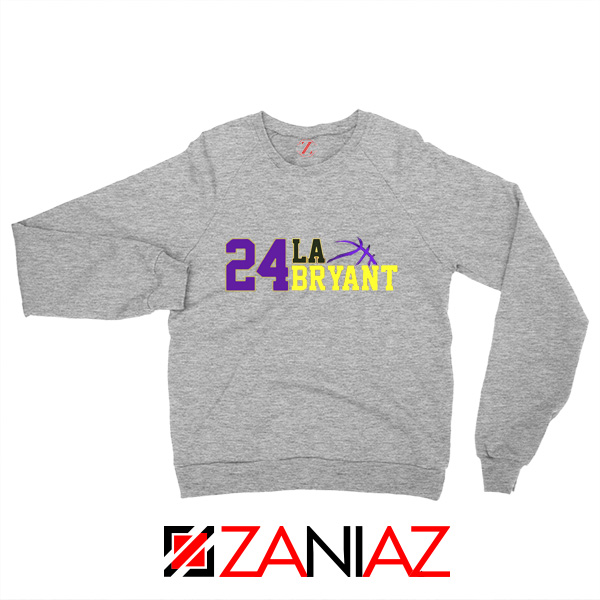 24 Lakers Kobe Bryant Sweaters Bryant Number Change S-2XL