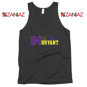 24 Lakers Kobe Bryant Tank Tops Bryant Number Change S-3XL
