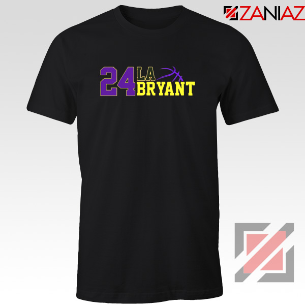 24 Lakers Kobe Bryant Tee Shirts Bryant Number Change S-3XL