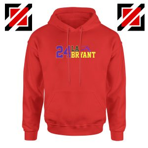 24 Lakers Kobe Red Hoodies