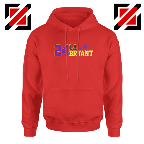 24 Lakers Kobe Red Hoodies