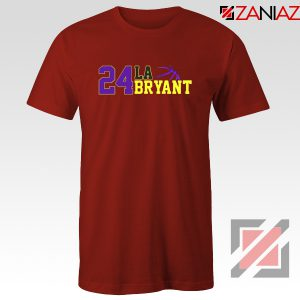 24 Lakers Kobe Red Tee Shirts