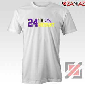 24 Lakers Kobe White Tee Shirts