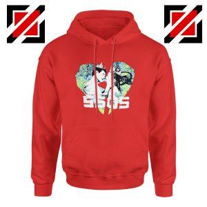 5SOS Kiss Heart Red Hoodie