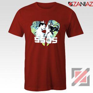 5SOS Kiss Heart Red Tshirt