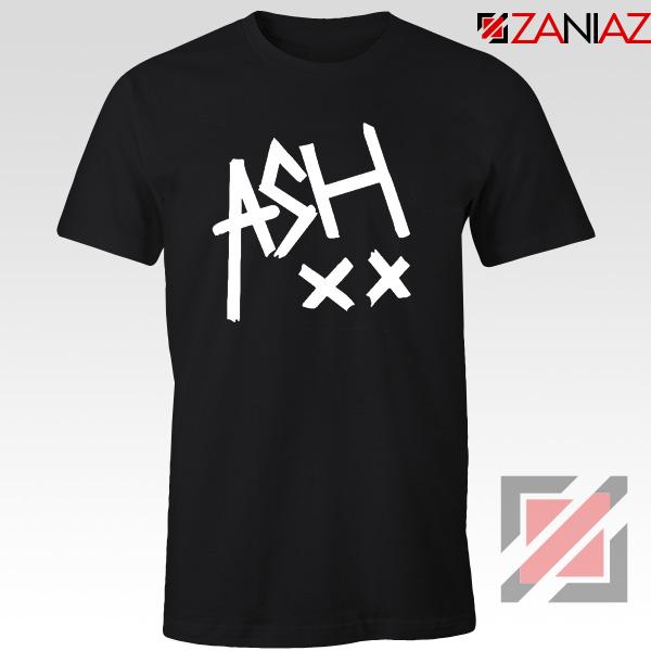 5sos ASH XX Black Tshirt