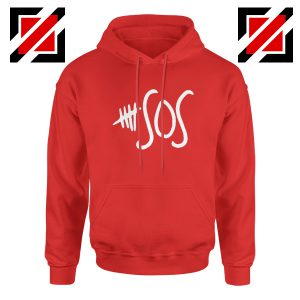 5sos Merch Red Hoodie