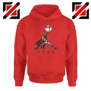 Air Jordan Hoodie Air Yoda The Mandalorian Hoodies S-2XL Red