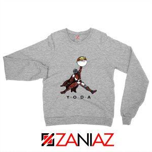 Air Jordan Sweatshirt Air Yoda The Mandalorian Sweaters S-2XL