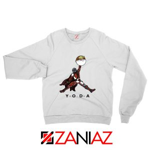 Air Jordan Sweatshirt Air Yoda The Mandalorian Sweaters S-2XL White