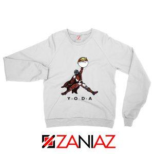 Air Jordan Sweatshirt Air Yoda The Mandalorian Sweaters S-2XL White