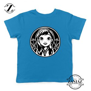 Anna Frozen Kids Tshirt Princess Disney Youth Tee Shirts S-XL