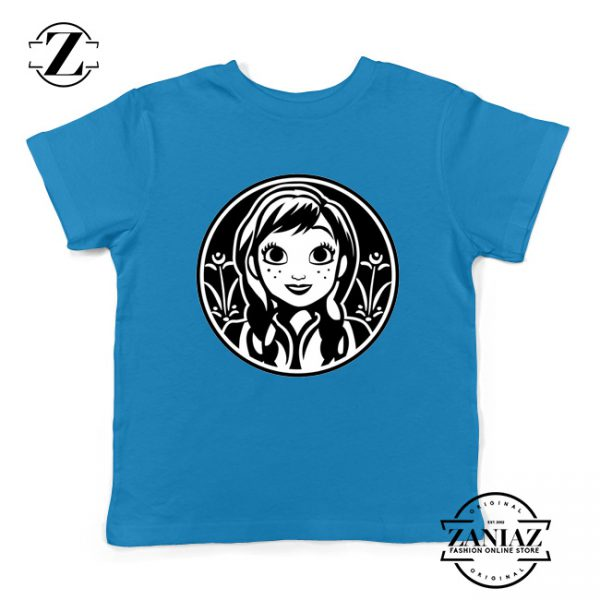 Anna Frozen Kids Tshirt Princess Disney Youth Tee Shirts S-XL