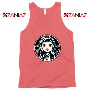 Anna Frozen Tank Top Princess Disney Tops S-3XL