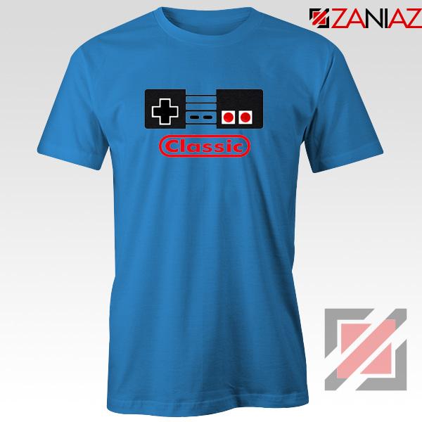 Arcade Game Blue Tshirt