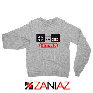 Arcade Game Sweatshirt Nintendo Classic Sweaters S-2XL