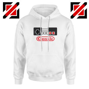 Arcade Game White Hoodie