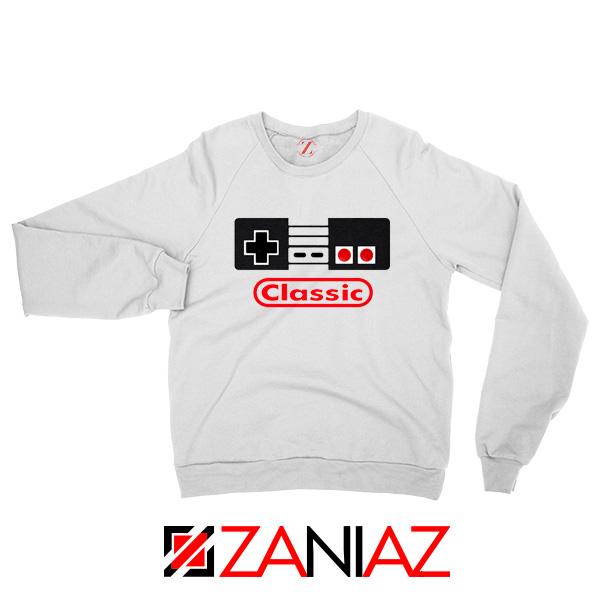 Arcade Game White Sweatshirt