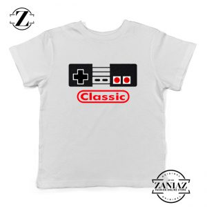Arcade Game White Youth Tshirt