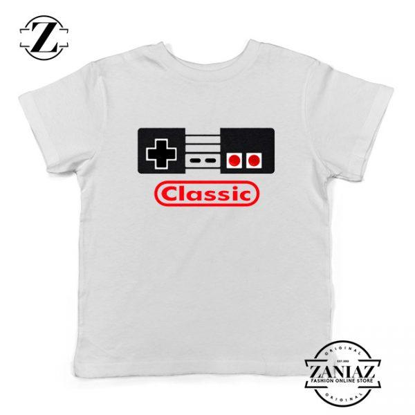Arcade Game White Youth Tshirt