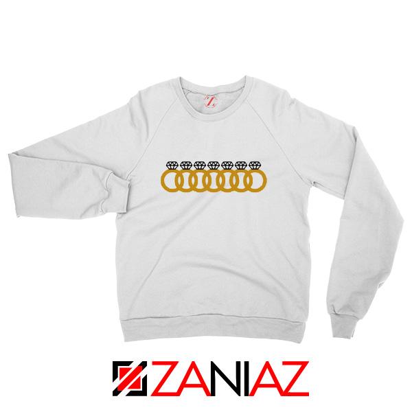 Ariana Grande 7 Rings White Sweatshirt