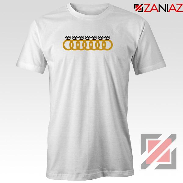 Ariana Grande 7 Rings White Tshirt
