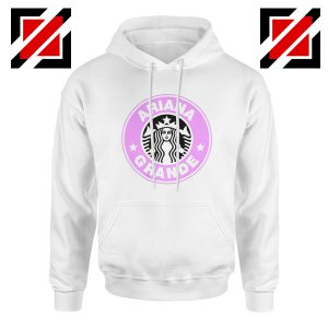 Ariana Grande Starbucks Hoodie Coffee Logo Hoodies S-2XL