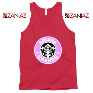 Ariana Grande Starbucks Red Tank Top