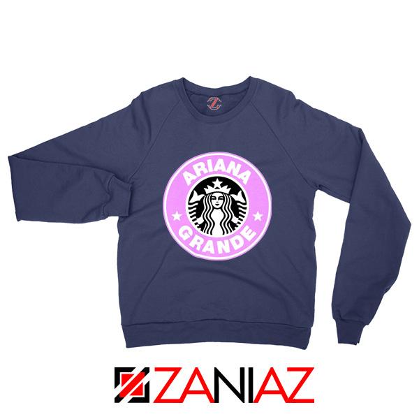 Ariana Grande Starbucks Sweatshirt Coffee Logo Sweaters S-2XL