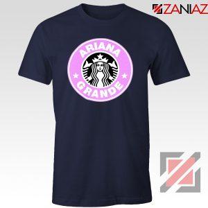 Ariana Grande Starbucks Tshirt Coffee Logo Tee Shirts S-3XL