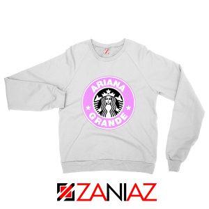 Ariana Grande Starbucks White Sweatshirt