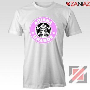 Ariana Grande Starbucks White Tshirt