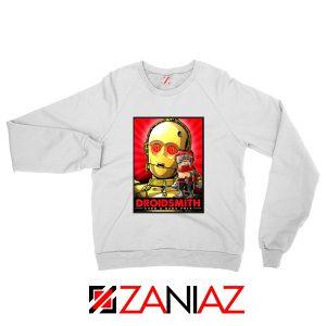Babu Frik Sweatshirt Star Wars Characters Gift Sweater S-2XL White