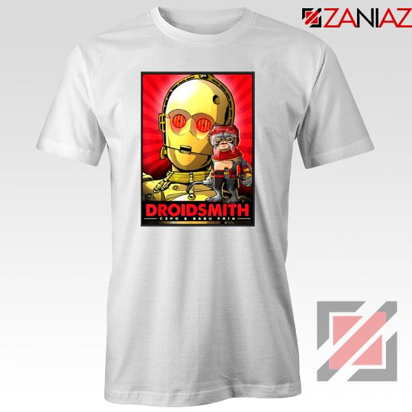 Babu Frik Tshirt Star Wars Characters Gift Tee Shirts S-3XL White