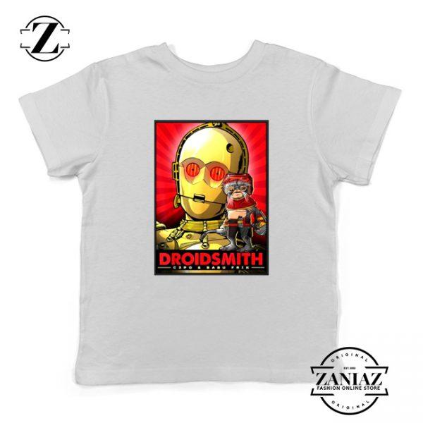 Babu Frik Youth Tshirt Star Wars Characters Gift Kids Tee Shirts S-XL White