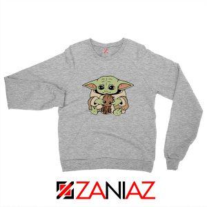 Baby Yoda Baby Groot Sport Grey Sweatshirt
