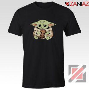 Baby Yoda Baby Groot Tshirt Gifts Disney Tee Shirts S-3XL