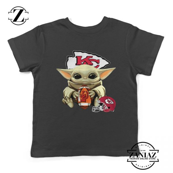 Baby Yoda Kansas City Chiefs Kids Tee The Mandalorian Youth Tshirts