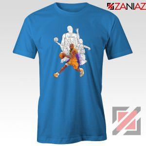 Basketball Kobe Bryant Blue Tshirt