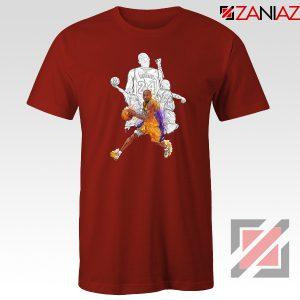Basketball Kobe Bryant Red Tshirt
