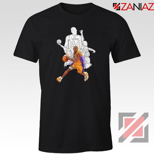 Basketball Kobe Bryant Tshirt NBA Player Tee Shirts S-3XL