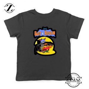 Bat and Robin Kids Tshirt Batman DC Comics Youth Tee Shirts S-XL