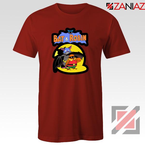 Bat and Robin Red Tshirt