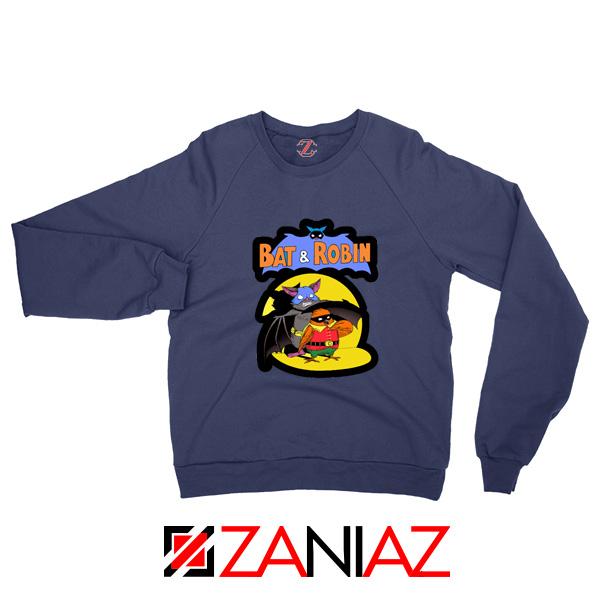Bat and Robin Sweatshirt Batman DC Comics Sweaters S-2XL