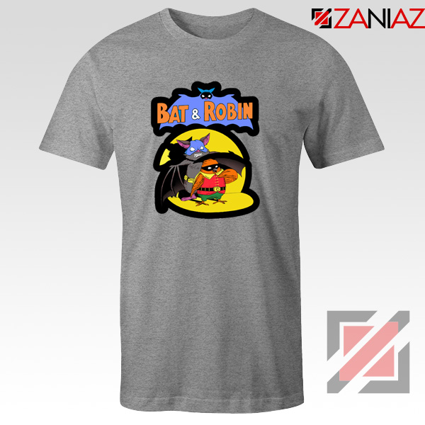 Bat and Robin Tshirt Batman DC Comics Tee Shirts S-3XL